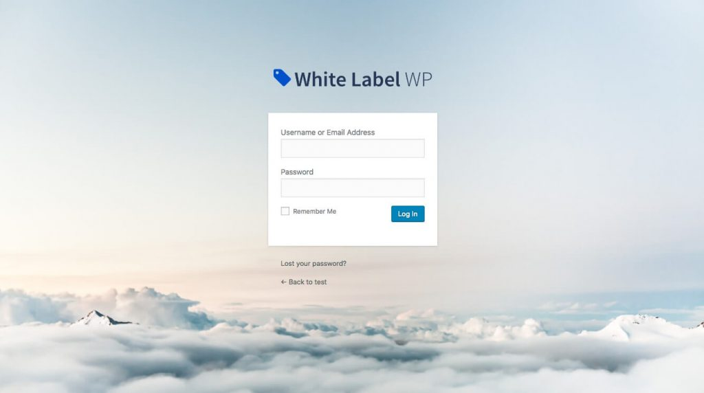 Custom WordPress login Plugin